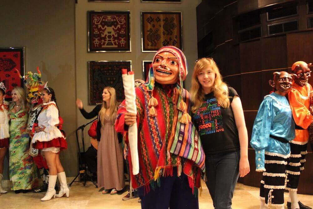 peruvian dance show