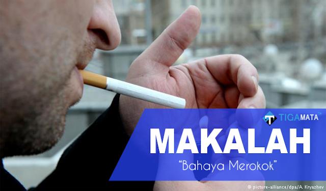 Tugas Makalah Tentang Bahaya Merokok Bagi Kesehatan (Doc dan Pdf)