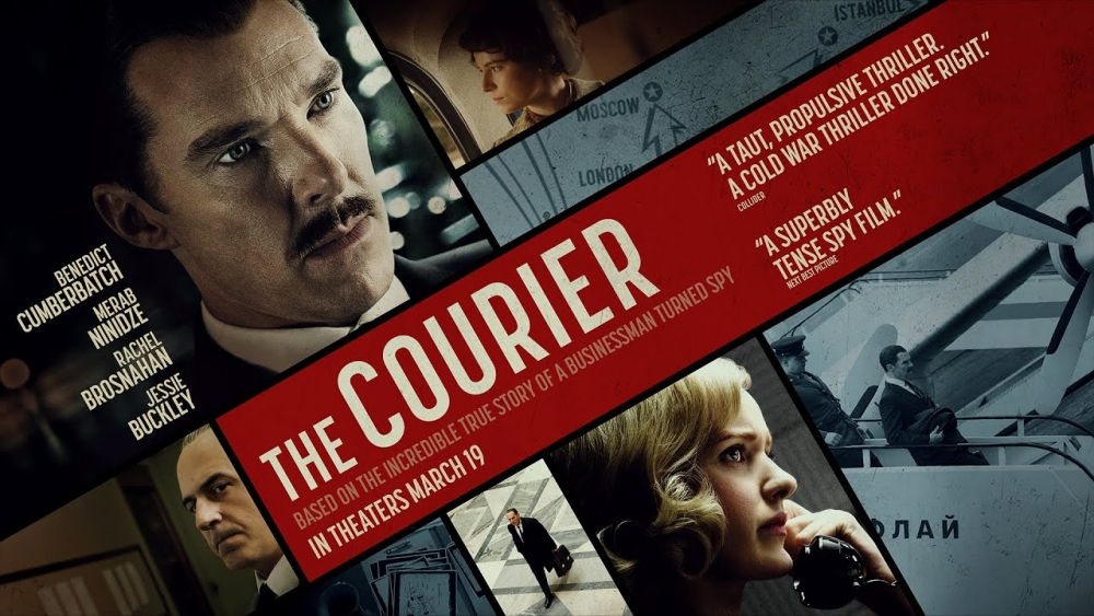 The Courier, Action, History, Drama, Thriller, Movie Review by Rawlins, Rawlins GLAM, Rawlins Lifestyle