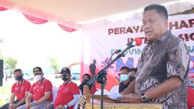 May Day 2021, Gubernur Olly Apresiasi Peran Buruh dalam Pembangunan Sulut
