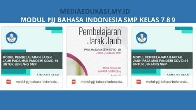 Modul PJJ Bahasa Indonesia SMP Semester Ganjil