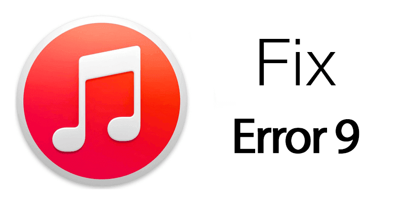 fix itunes error 9