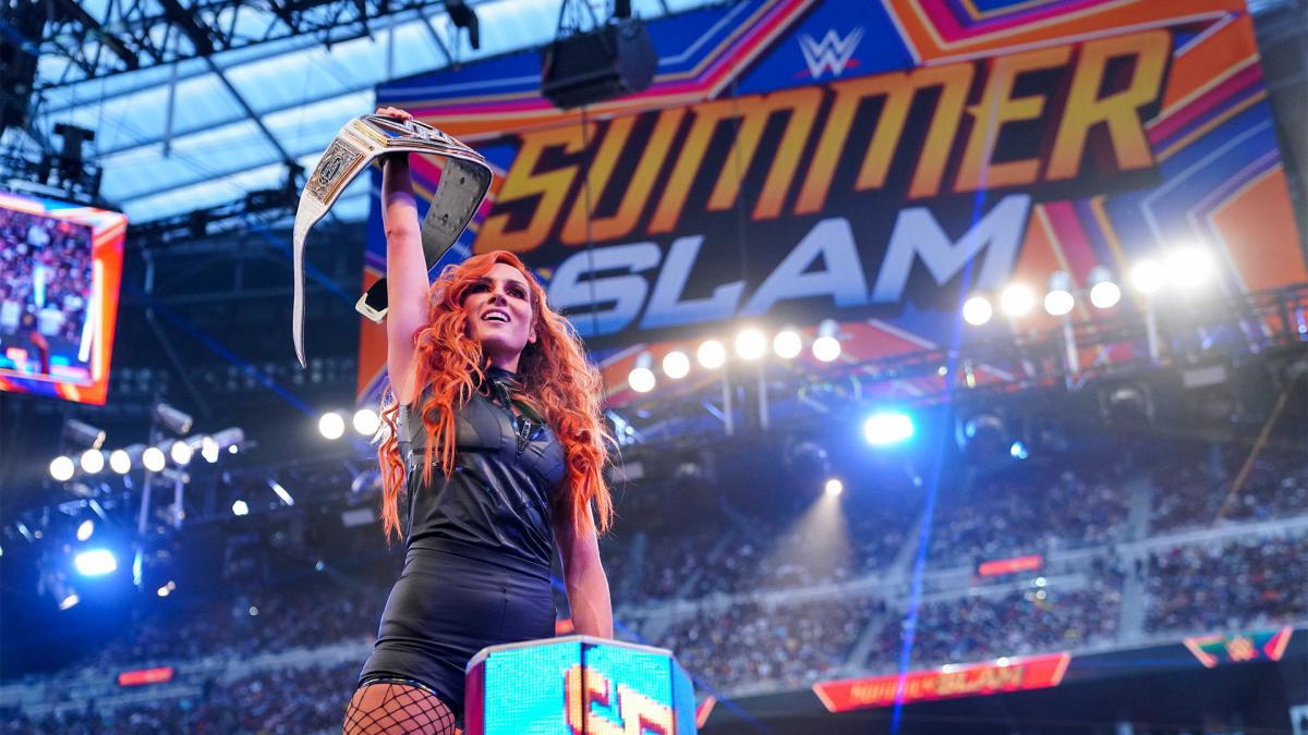 Becky Lynch retorna no SummerSlam e conquista o SmackDown Women's Championship