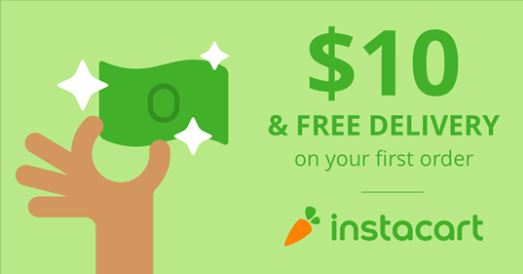 Instacart Online Grocery Delivery Service - Get $10 off and free
