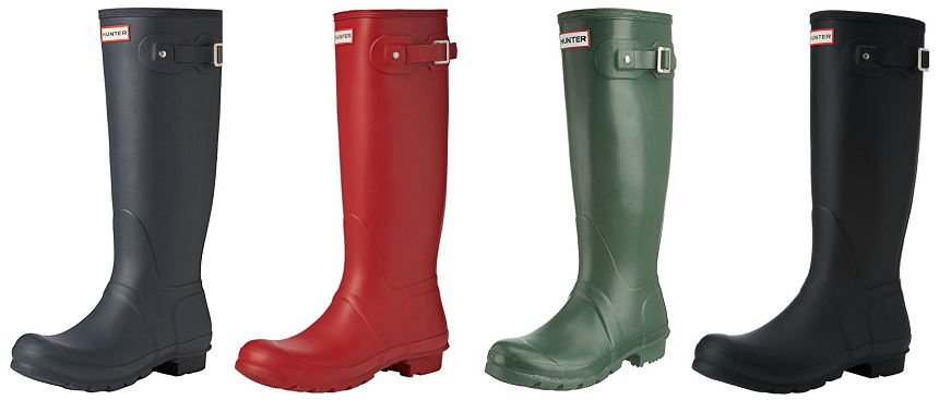 Hunter Original Tall Welly Boots for as low as $75