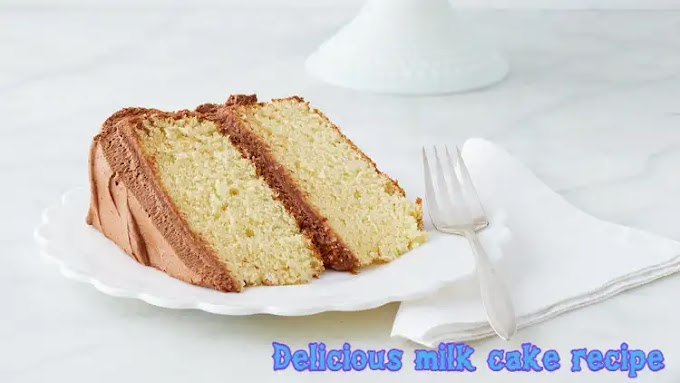 Easy Milk cake recipe | How to make milk cake at home
