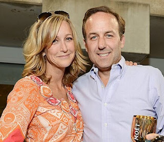 Real estate broker, David Haffenreffer with his ex-wife Lara Spencer