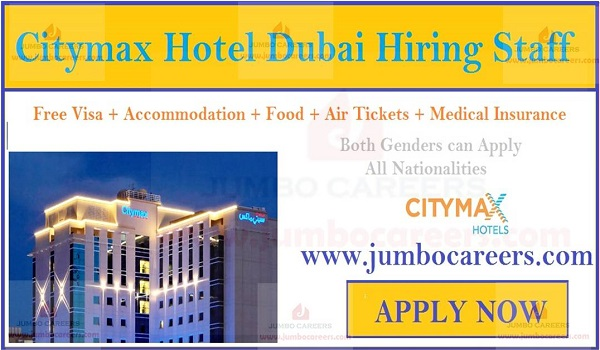 3 star hotel job vacancies in Dubai, Female Job Vacancies In Dubai,