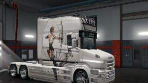 Scania T Longline Amazonka Skin