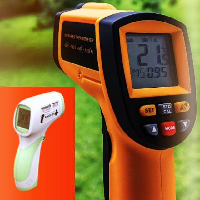 Temperature Gun, How does a temperature gun work, How does a Infrared Thermometer work