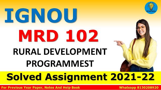 MRD 102