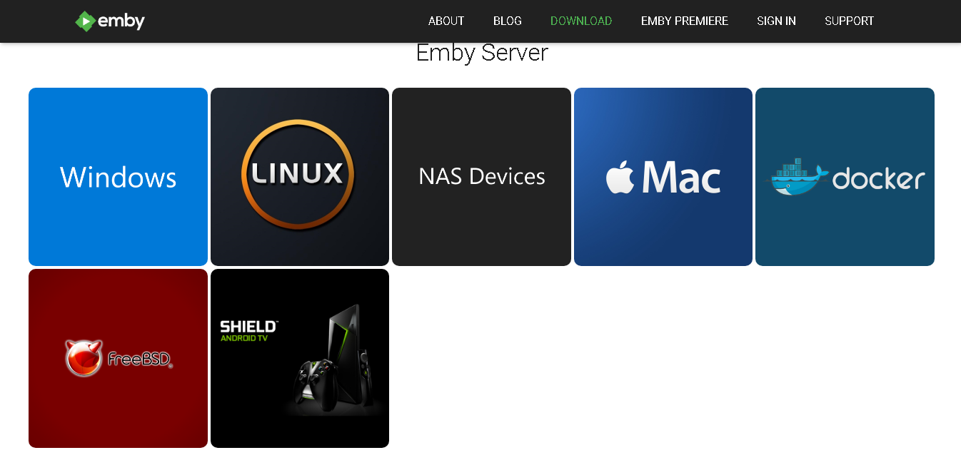 Streaming Film dengan Emby Server - Instalasi & Konfigurasi Default