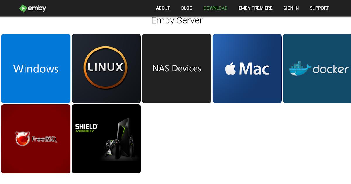 Streaming Film dengan Emby Server - Instalasi & Konfigurasi Default