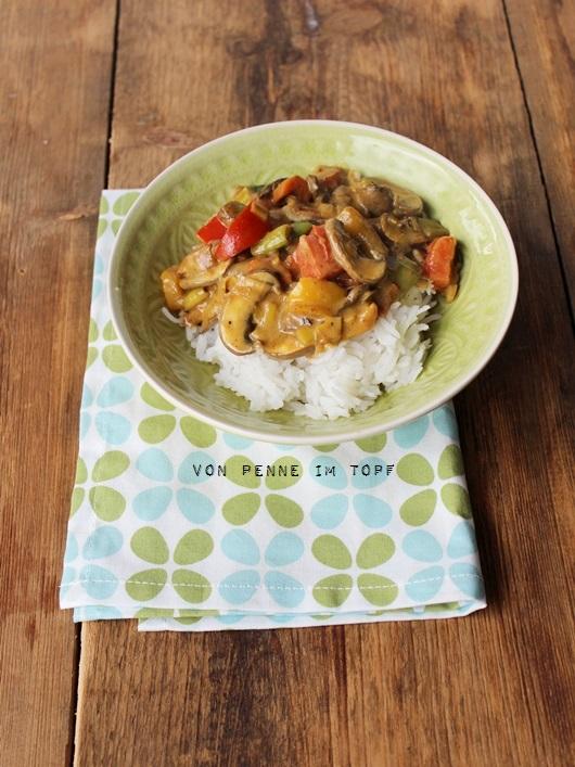 reis curry kokosmilch