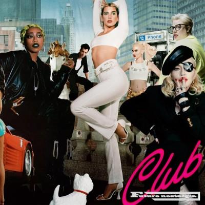 Dua Lipa & The Blessed Madonna - Club Future Nostalgia (DJ Mix) (2020) - Album Download, Itunes Cover, Official Cover, Album CD Cover Art, Tracklist, 320KBPS, Zip album