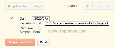 Cara redirect link karena error 404 di blogspot