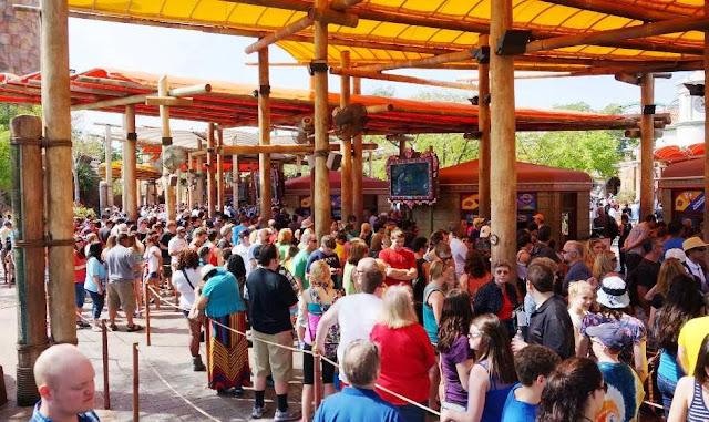 Comprando o ingresso na bilheteria dos parques de Orlando