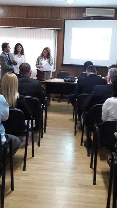 Actividad de la Secretaría Administrativa de la Corte de Justicia: Programa de Calidad Judicial
