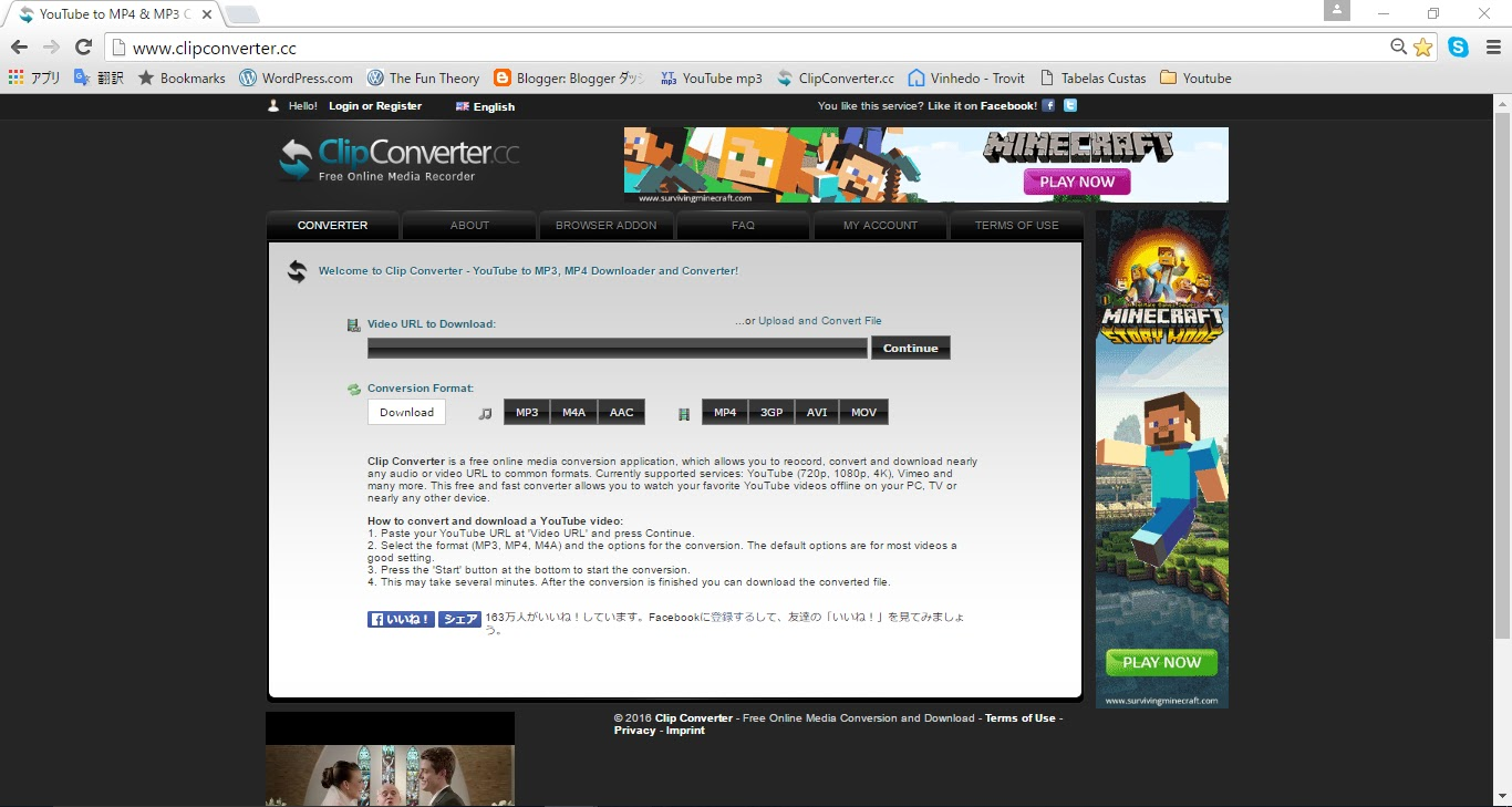 Japanerada como abaixar vdeos do youtube httpclipconverter clip converter is a free online media conversion application which allows you to convert and download youtube urls to formats ccuart Images