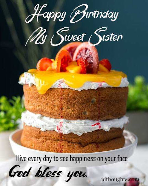 happy birthday wishes messages for sister quotes