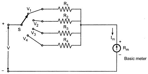 Circuit Diagram Voltmeter - Wiring Schematics on
