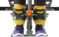 AirSoft ankle holders on Exerpeutic 975SL Inversion Table, image