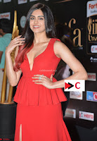 Adah Sharma in Red Deep Neck Spicy Gown ~  Exclusive 18.jpg