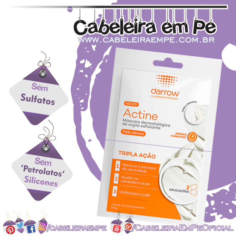 Máscara Esfoliante Actine - Darrow