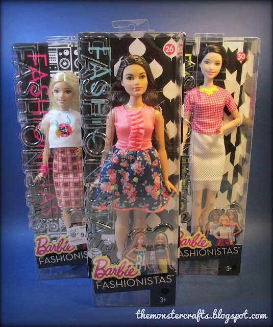 Barbie Fashionistas monster crafts blog