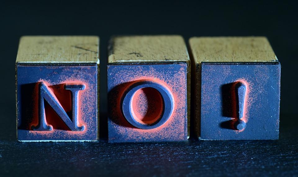 dizer não para o pecado