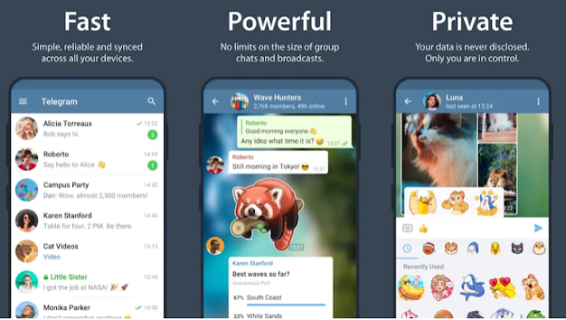 Download Telegram app for android for free [ Latest version 7.7.2 ]