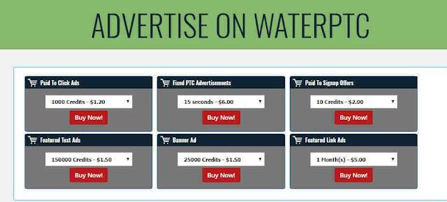 Advertise on Waterptc