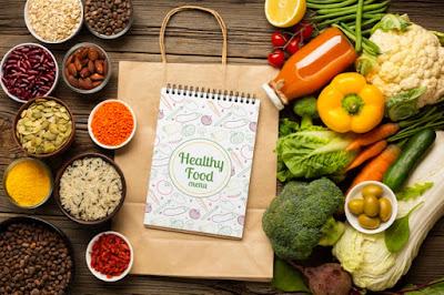 Alimentos orgánicos saludables
