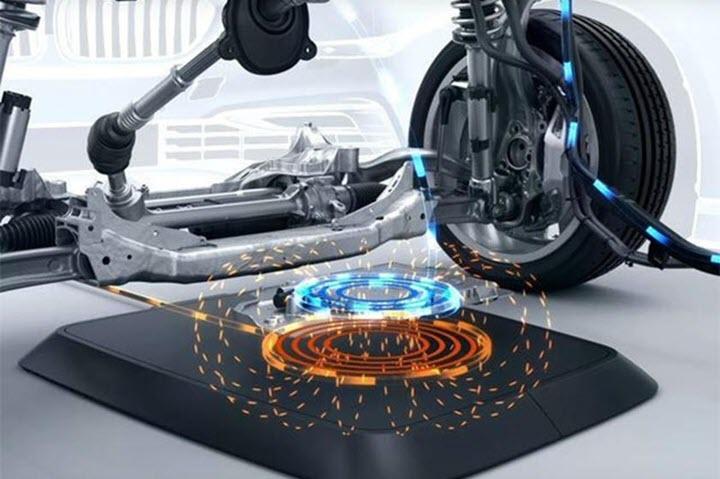Ôtô điện đã có công nghệ sạc không dây