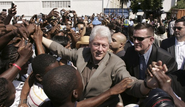 President Clinton: Working in Haiti, for the [United Nations] and as a private citizen, is one of the great honors of my life.