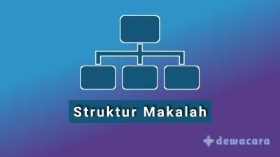 Struktur dasar makalah