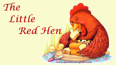 The Little Red Hen Story with PDF