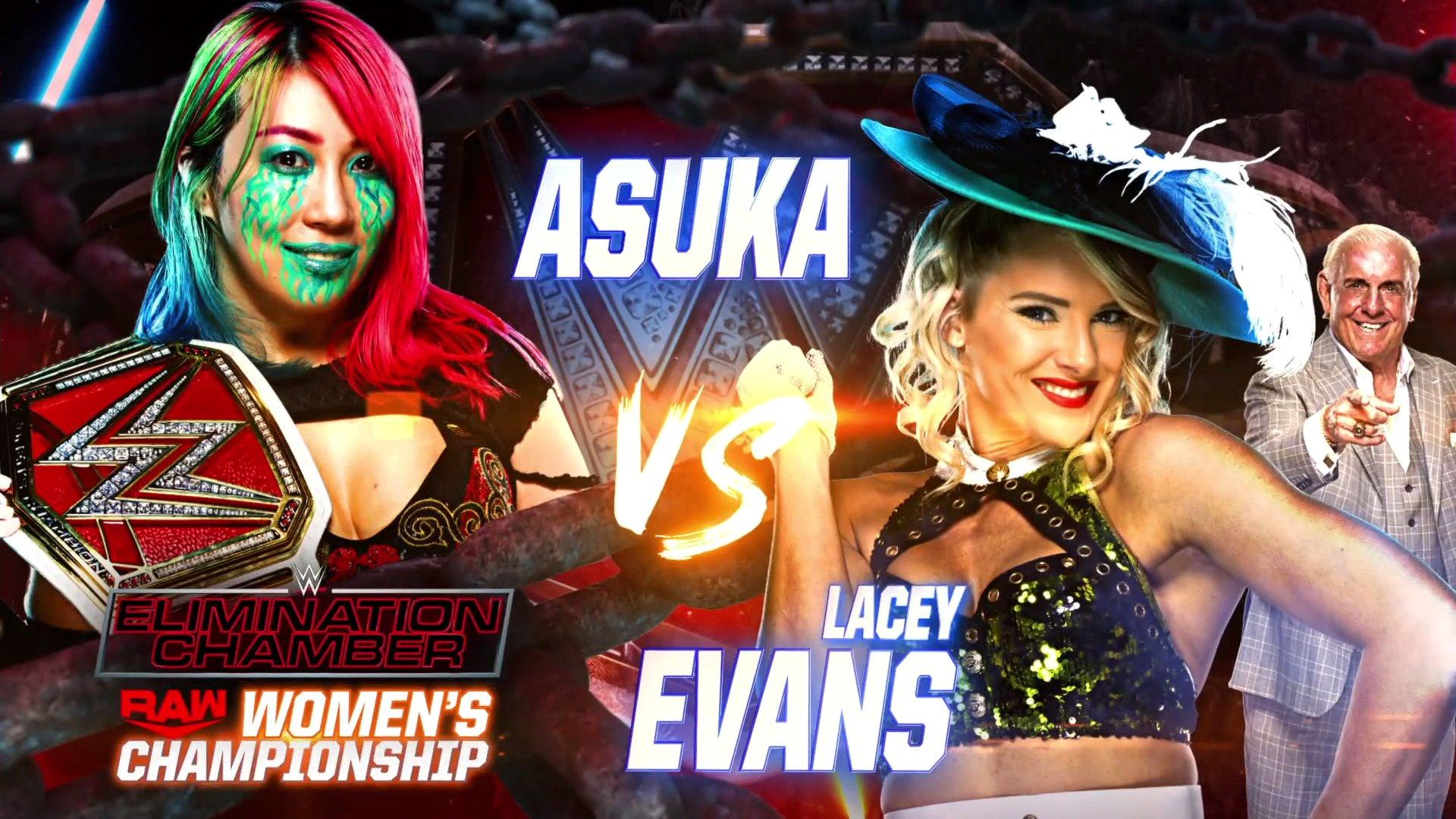 RAW Women's Championship estará em jogo no WWE Elimination Chamber