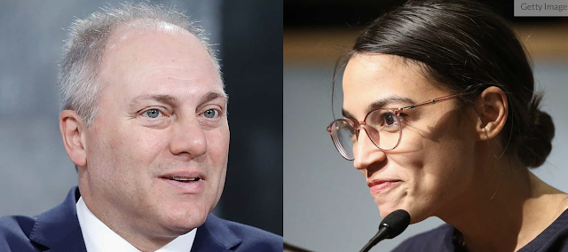 Ocasio-Cortez Gets Nasty With Steve Scalise, Her Supporters Threaten Him. His Response Is Perfect.