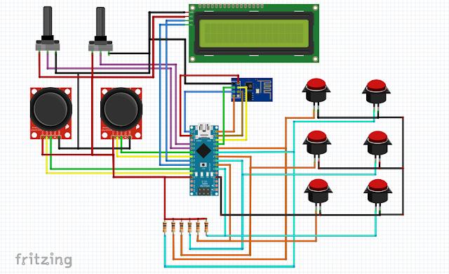 Esquema RCXbox LCD Infotronikblog