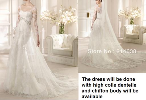 a6a291b42540f فساتين زفاف جديد 2014 - مدونة بنوتات