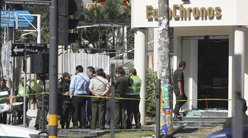 Atraco frustrado a joyería conmocionó a Santa Cruz el 13 de julio de 2017 / APG ARCHIVO