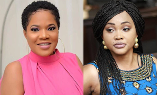 Toyin Abraham apologizes to Mercy Aigbe, both ladies follow each other back