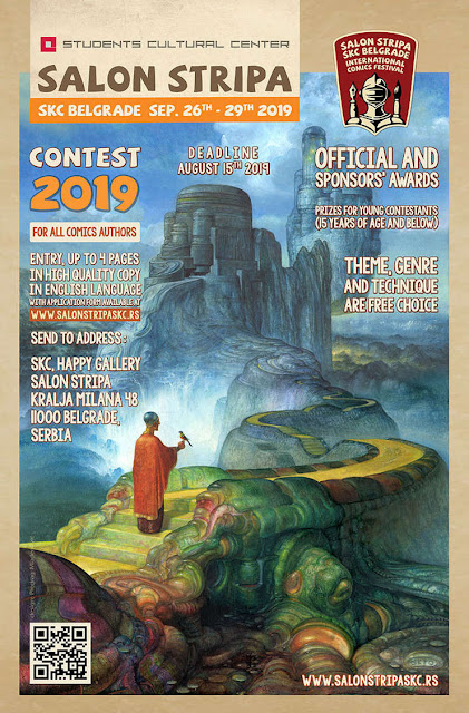 INTERNATIONAL COMICS FESTIVAL CONTEST 2019