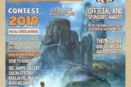 INTERNATIONAL COMICS FESTIVAL CONTEST 2019, SERBIA