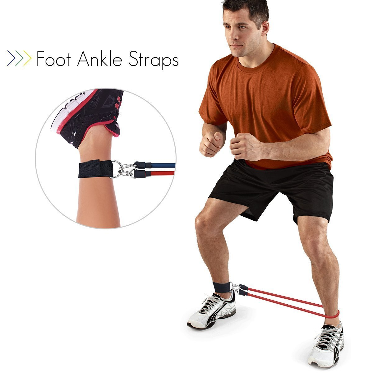 Topelek Exercise Band Kit Ideal For To Keep Fitness At