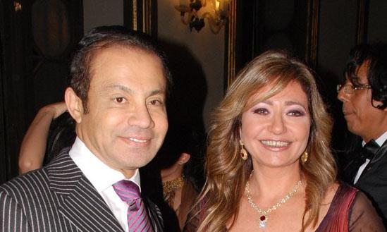 تعليق  ليلى علوى بعد وفاة طليقها منصور الجمال