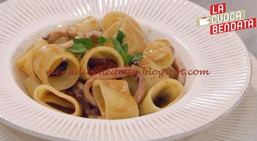 La Cuoca Bendata - Calamarata ricetta Parodi