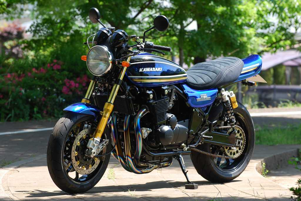 Planet Japan Blog: Kawasaki Zephyr 1100 #3 by Bagus!