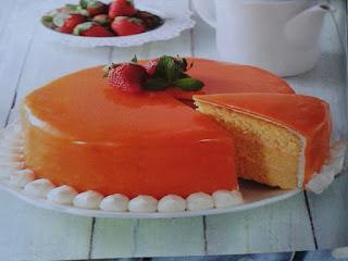 Gambar Resep Mangga Glaze Cake